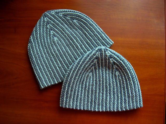 tychus hat. free knitty pattern. short rows. love pinkerston\'s boy ...