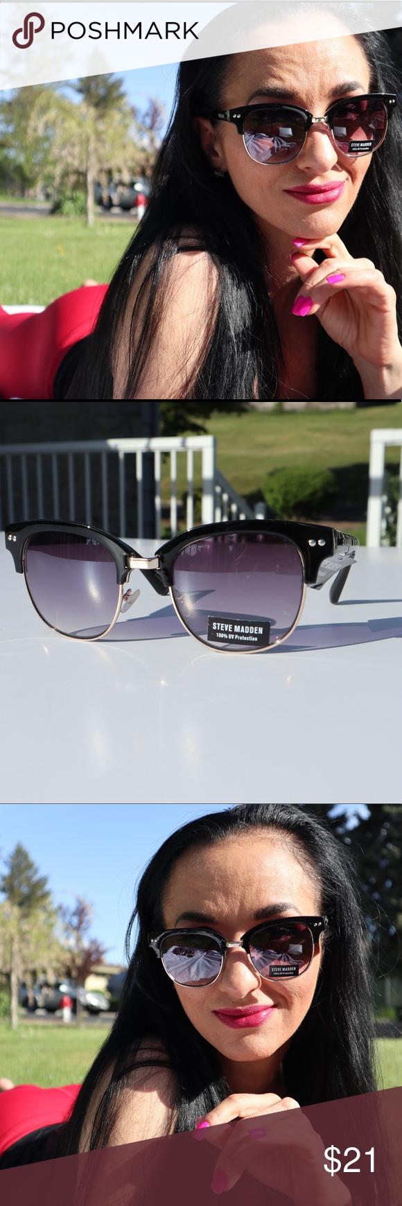 a27d8712aba1 NWT Steve Madden 100% UV Protection sunglasses NWT Steve Madden 100% UV  Protection sunglasses