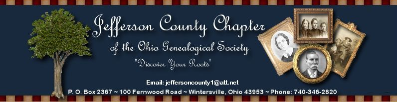 Jefferson County Chapter of the Ohio Genealogical Society - Homepage