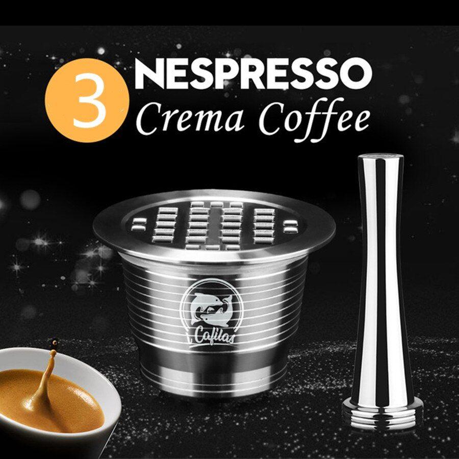 wiederverwendbare nespresso kapseln edelstahl