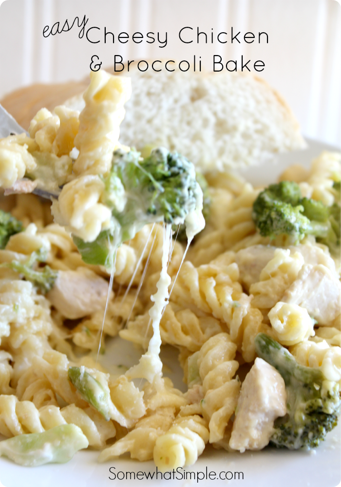 Baked Chicken And Broccoli Casserole  Recipe  The Best Of Somewhat Simple  Chicken Broccoli Bake, Broccoli Bake, Chicken Broccoli Pasta-4895