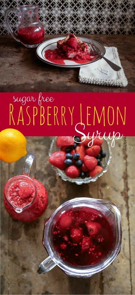 SO GOOD!!! I LOVE lemon and raspberry together! This sugar free berry syrup recipe is bursting with the flavors of raspberry and lemon- a Trim Healthy Mama Fuel Pull!
