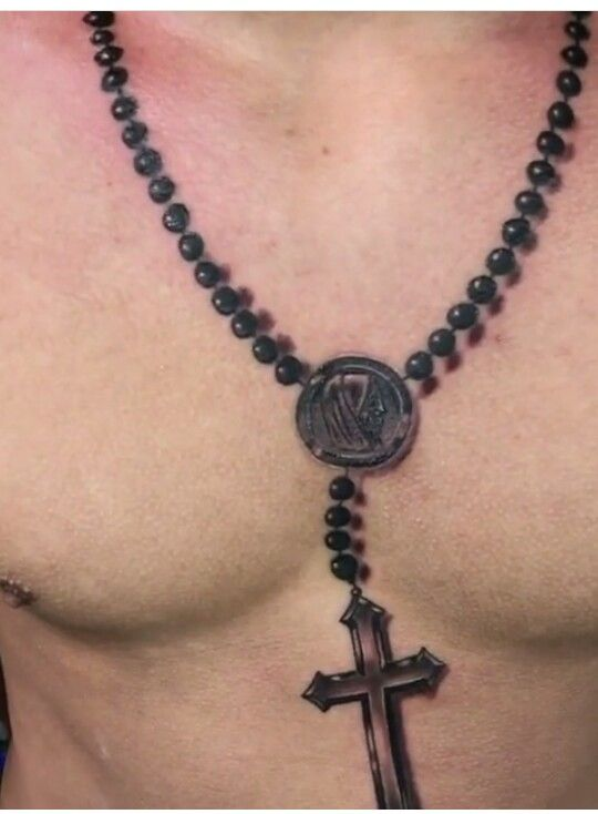 Pin By Byron Gustavo On Forma Geometrica Necklace Tattoo Rosary