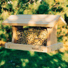 """PRO4 Cedar Bird Feeder Wild Hopper Feeders Garden /"""" Outdoor"""