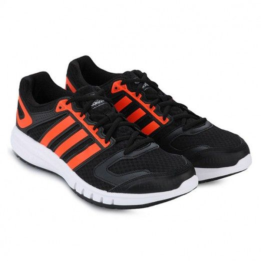 Sepatu Running Adidas Galaxy M Balutan Warna Orange Bikin Tambah