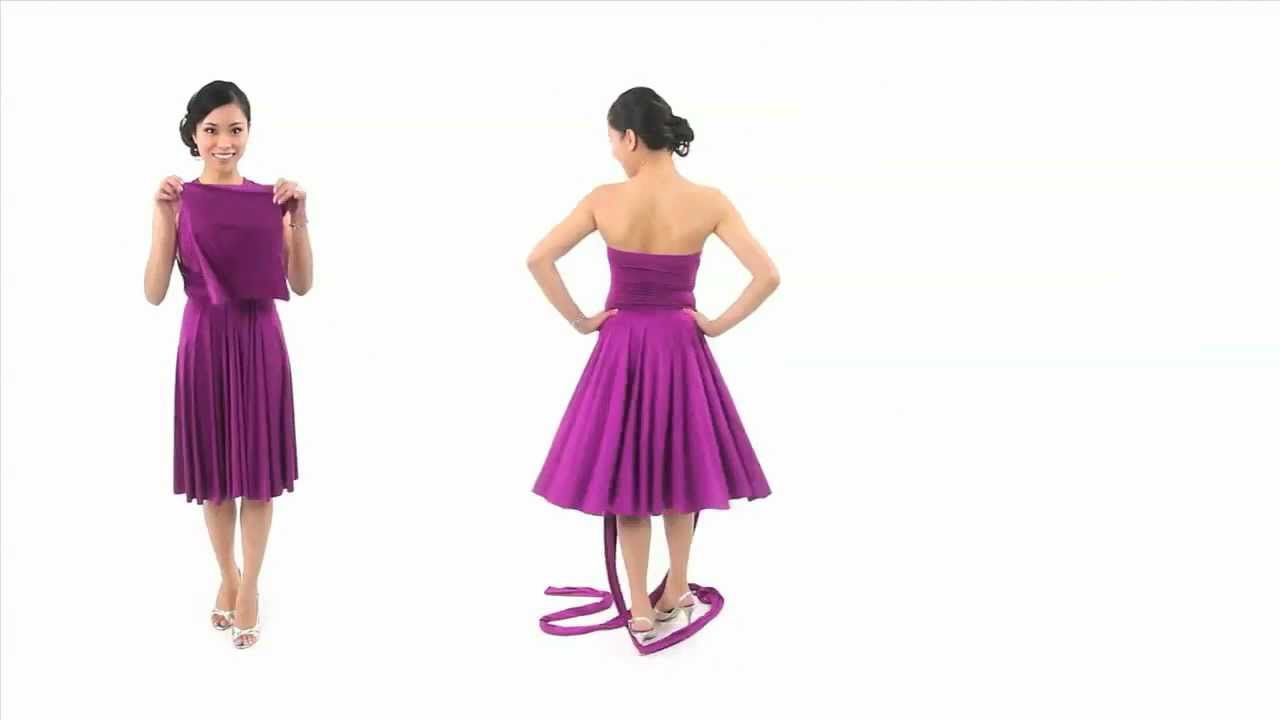 494ac59f2b 21 Ways to Wear the Henkaa Convertible Dress in 5 Minutes!- near end video
