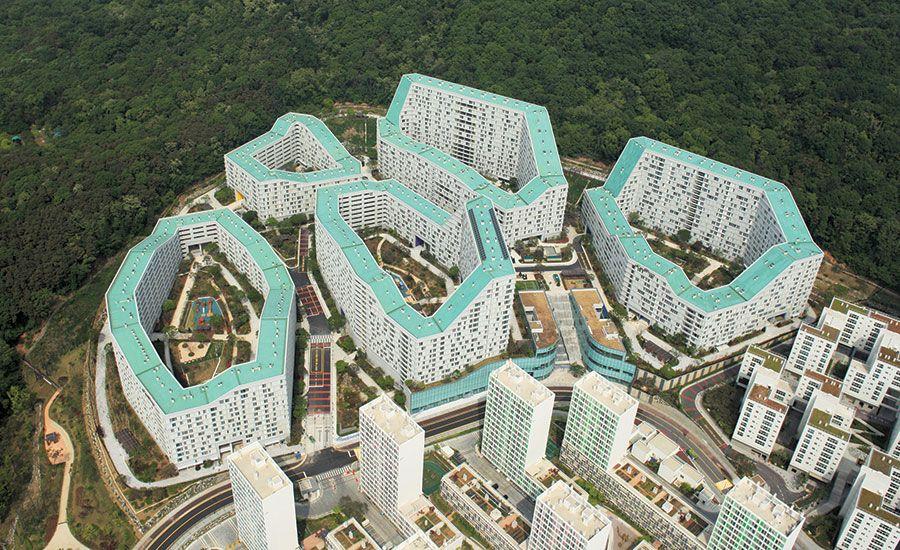 frits van dongen - superblock housing - in gangnam district, seoul, korea