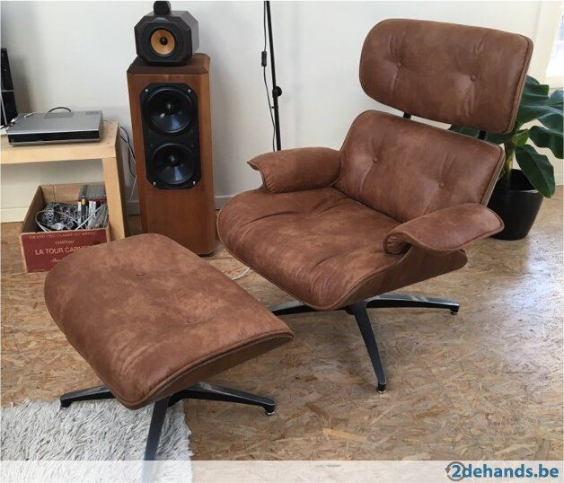 Wondrous Vintage Eames Lounge Chair Zetels Fauteuil Stoelen Gamerscity Chair Design For Home Gamerscityorg