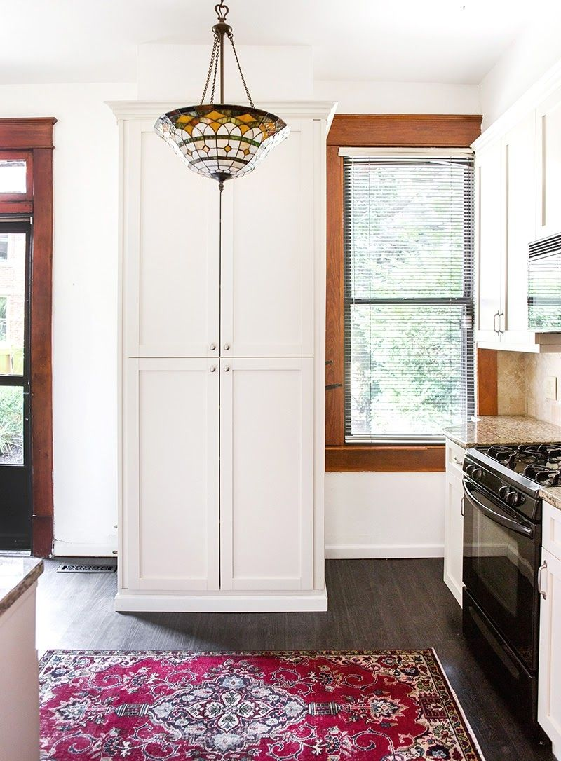 Before After Historic Townhome Tour Home Renovation Home Kitchen Throw Rugs