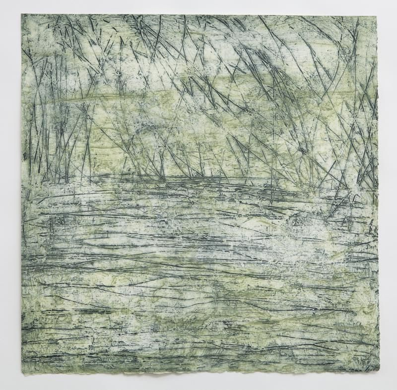 Christel Dillbohner Polar Journey Series, 2009, Monoprint