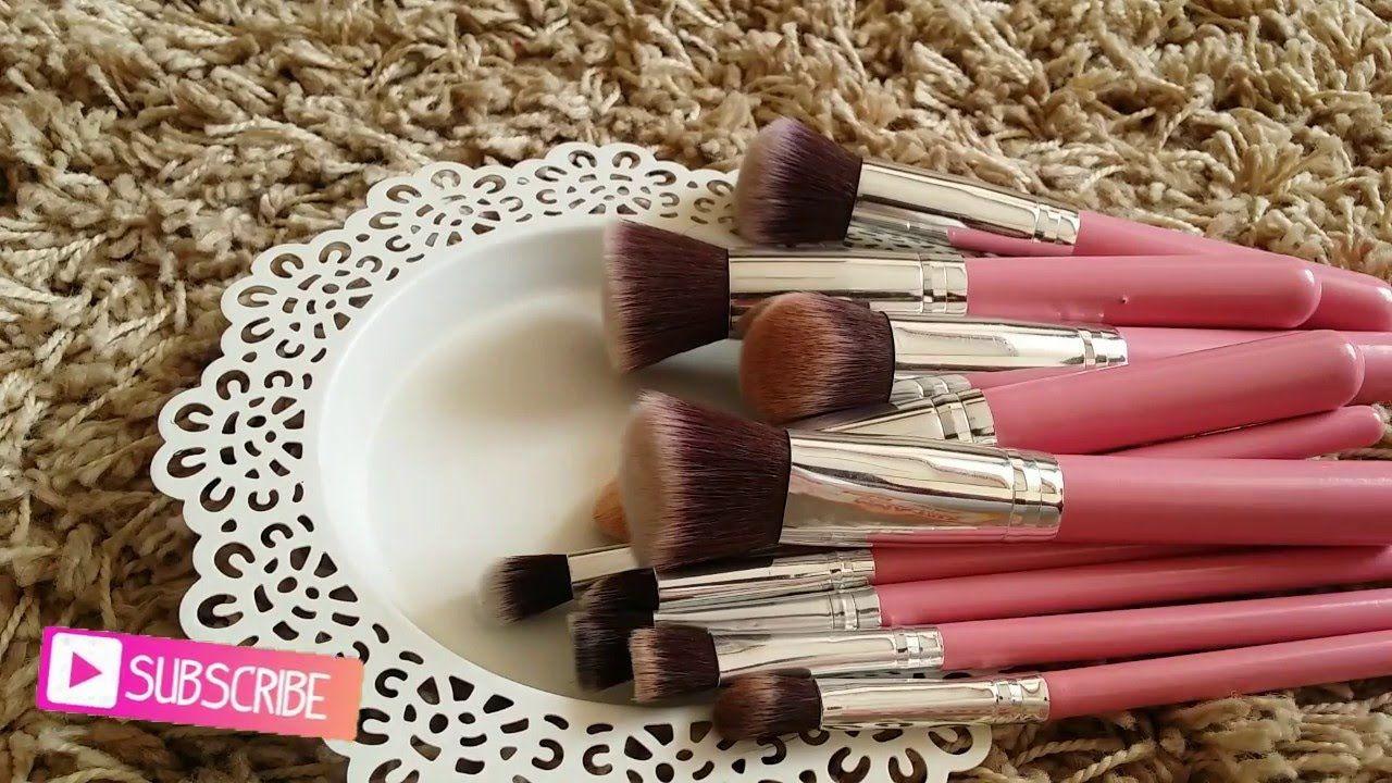 ريفيو فرش الميك اب من الموقع الصيني بانجوود makeup brushes
