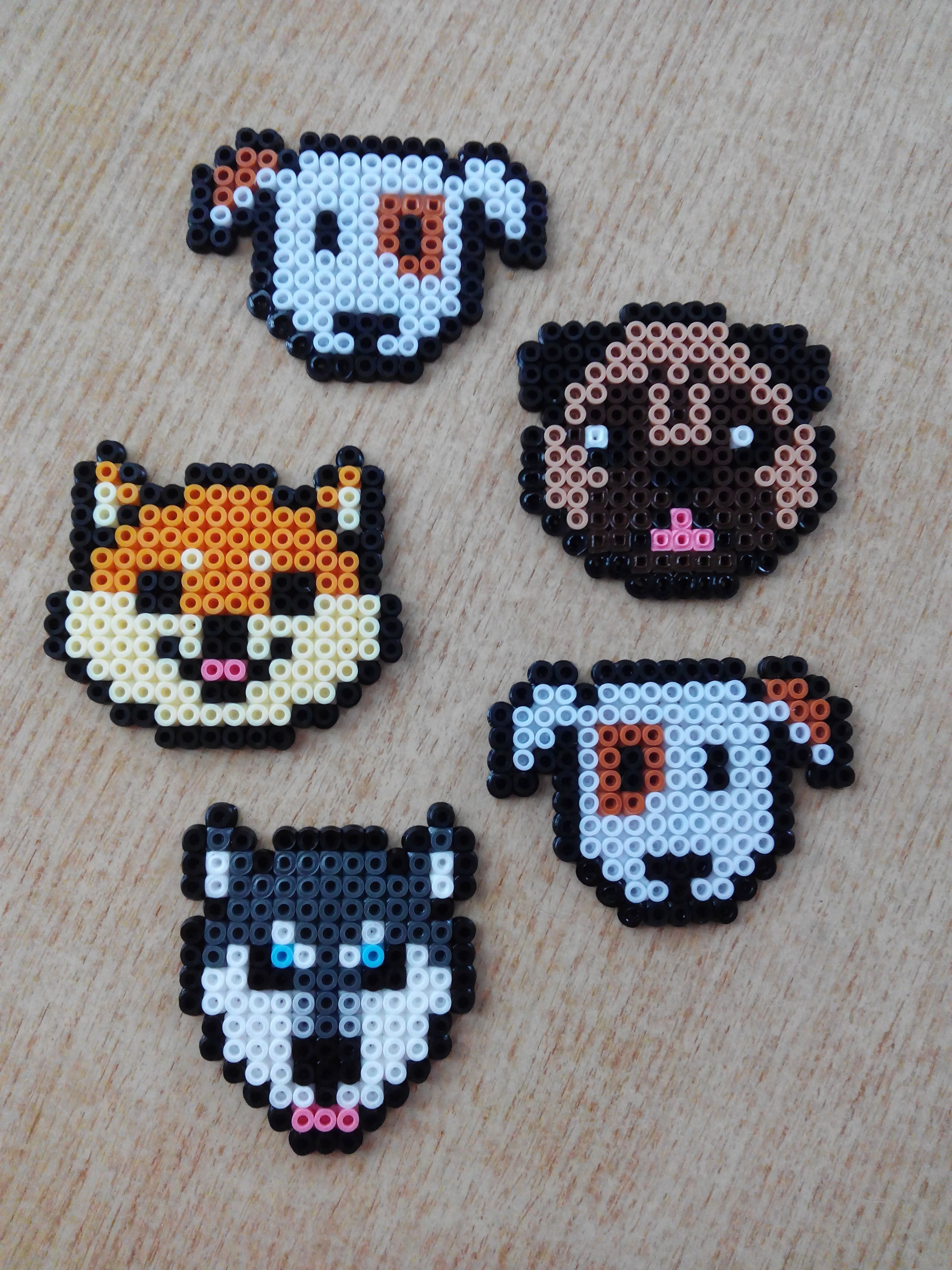 Perros Hamma Beads Ideas Hama Beads Patterns Pearl Beads Pattern