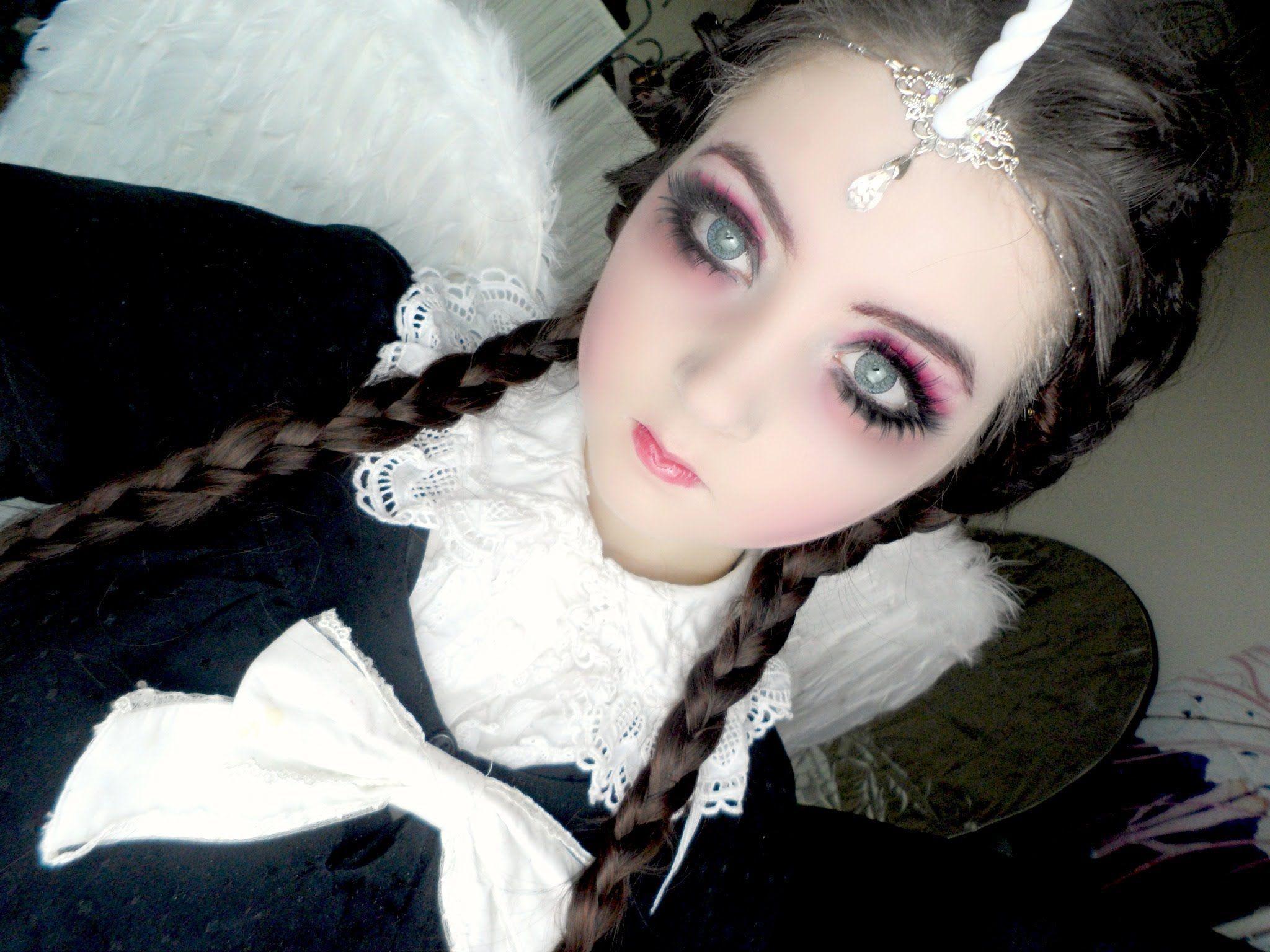 halloween make up - Halloween Angel Makeup Ideas