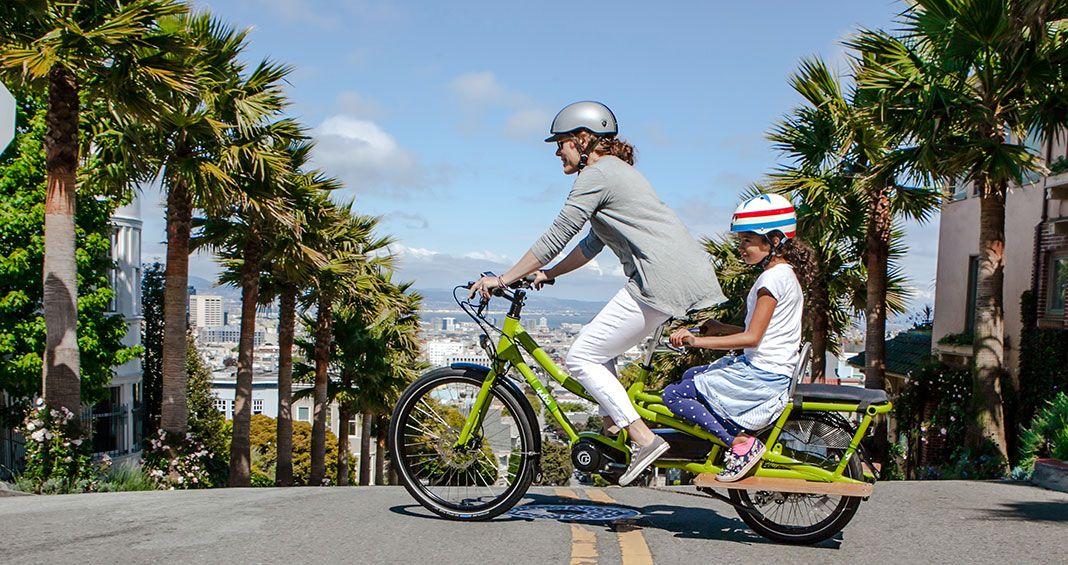 Spicy Curry Bosch   Big Wheels for Big Girls   Electric cargo bike