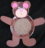 Bears Creations by Sheryl Paper Plate Animal Crafts & Bears Creations by Sheryl: Paper Plate Animal Crafts | Winter School ...