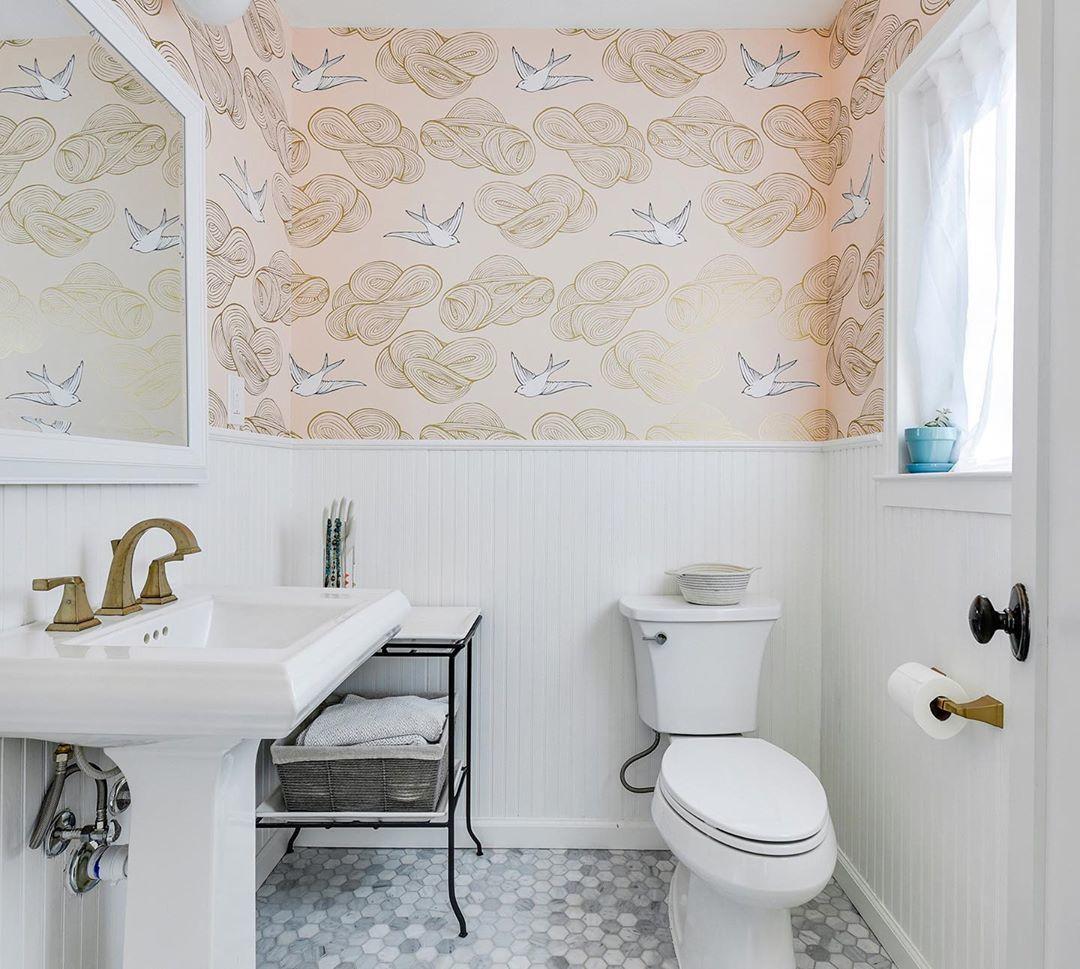 Pattern Stories Modern Wallpaper Daydream Wallpaper Hygge West