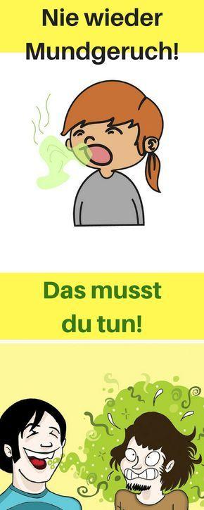 Mundgeruch Rachen Bekämpfen