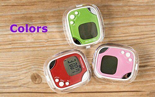 mewshop lcd calorie counter step pedometer body fat sport pedometer