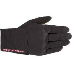 Photo of Alpinestars Reef Ladies Motorcycle Gloves Schwarz Pink M Alpinestars