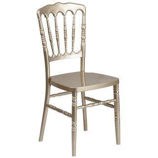 Resin Napoleon Chair Gold Lancaster Home Napoleon Chair