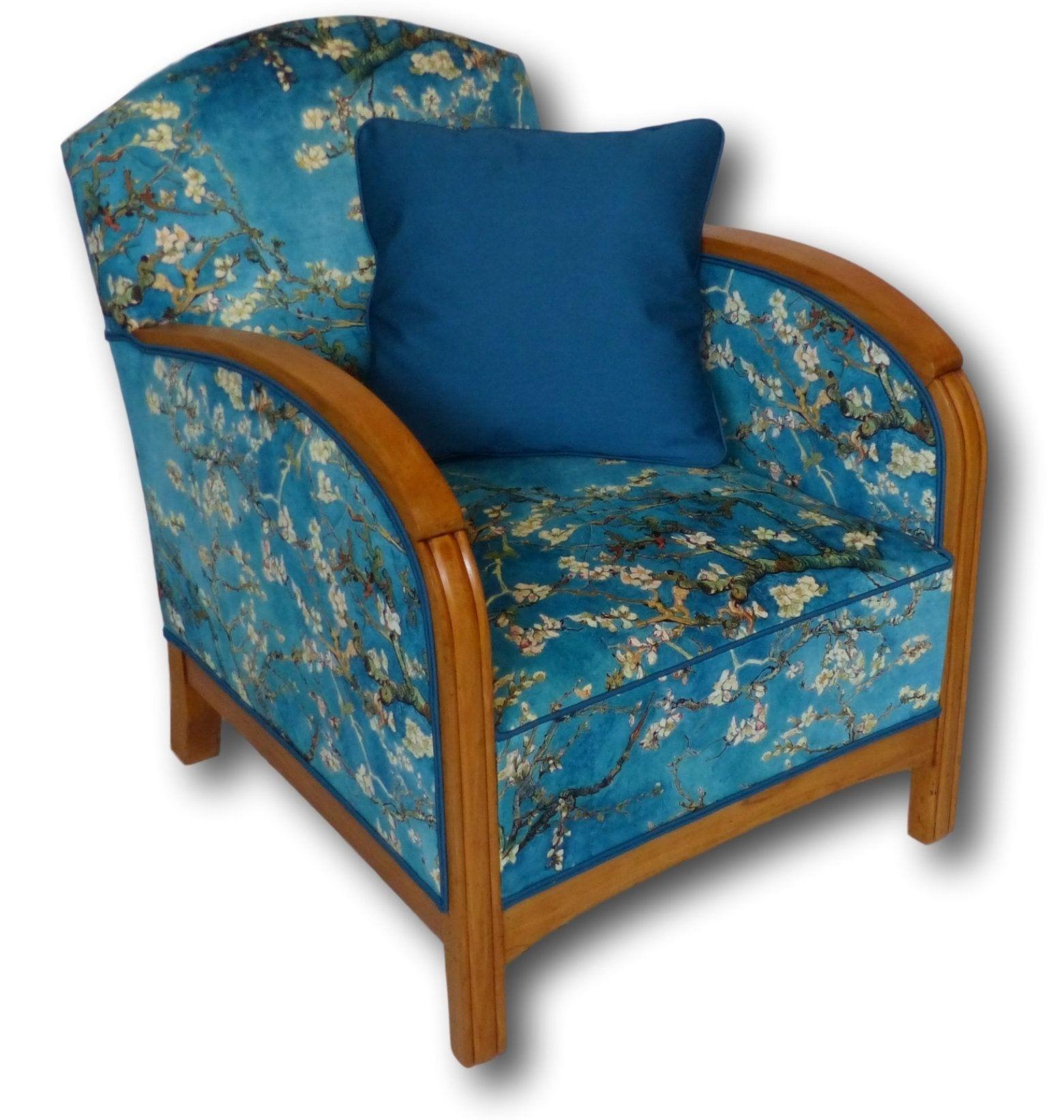 Fauteuil Club A Restaurer fauteuil club art déco 1920 - velours en 2020   fauteuil art