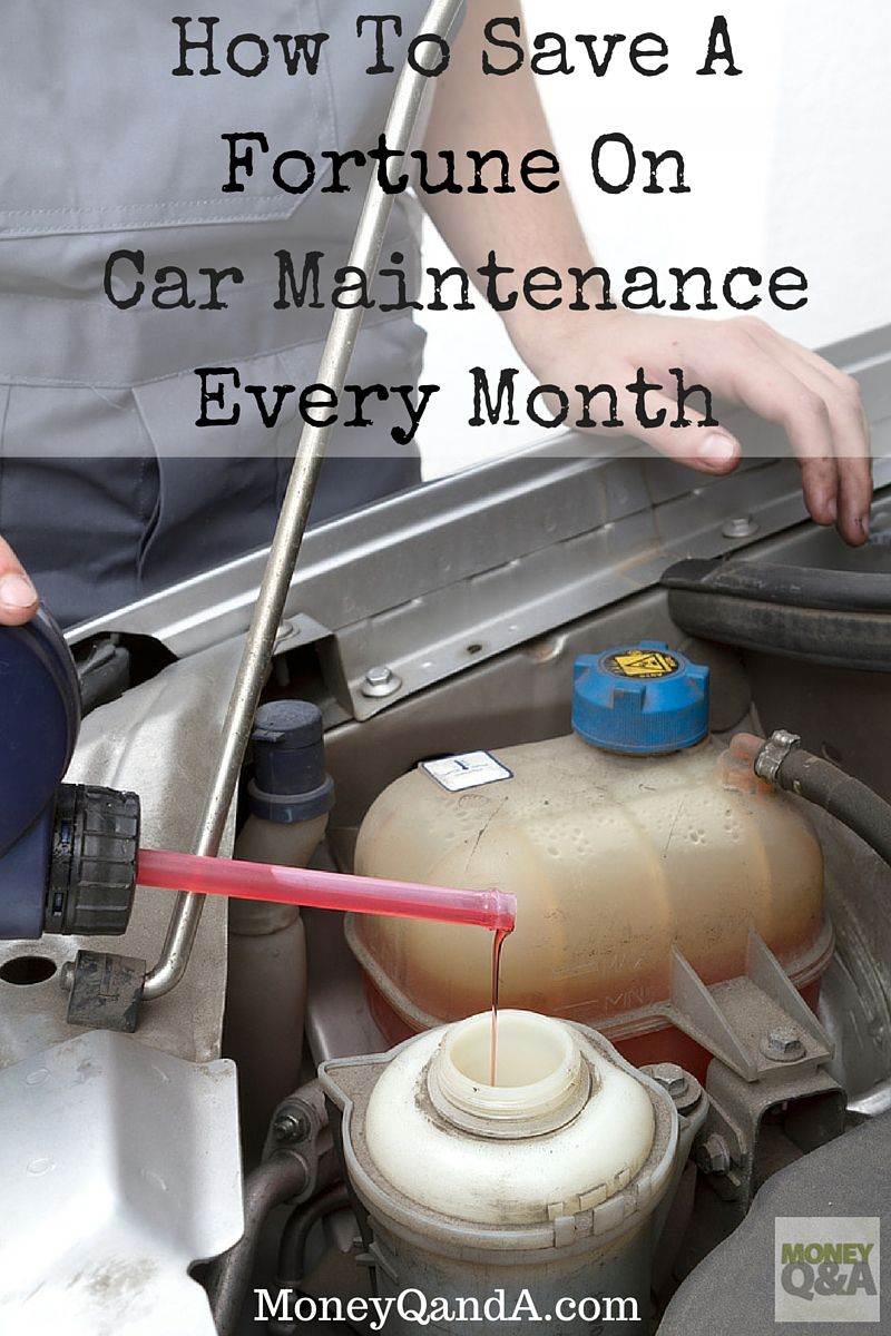How To Easily Save Money On The Average Car Maintenance Cost Saving Money Car Maintenance