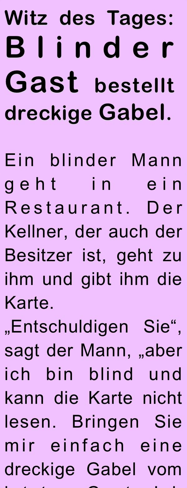 Tages Witze