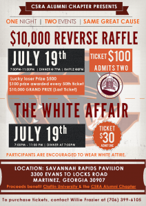 10000 reverse raffle and the white affair events calendar the augusta chronicle