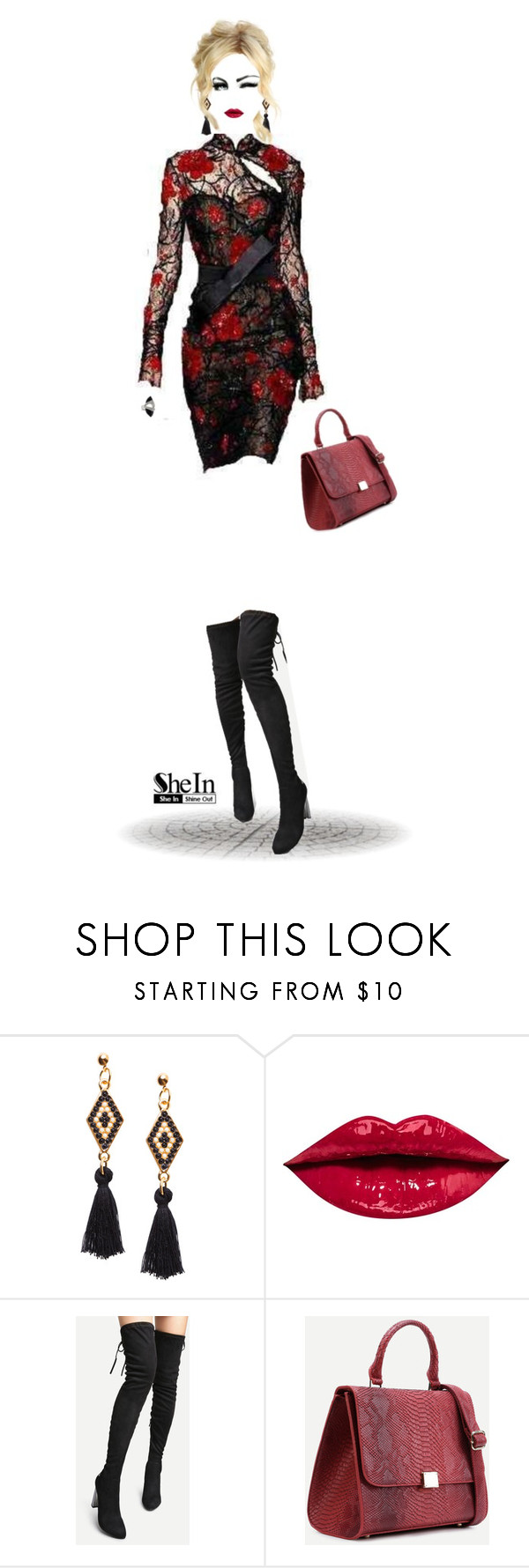 """""""She's a lady!"""" by m-zineta on Polyvore featuring Zuhair Murad, Anastasia Beverly Hills and Alexis Bittar"""