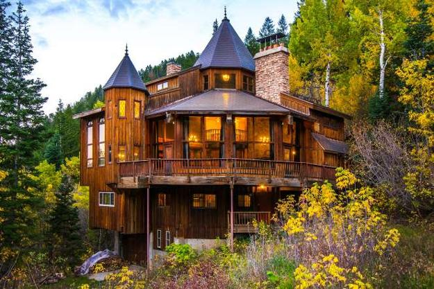 20 Stunning Examples Of Modern Cabins Unique Houses Log Homes Rustic House