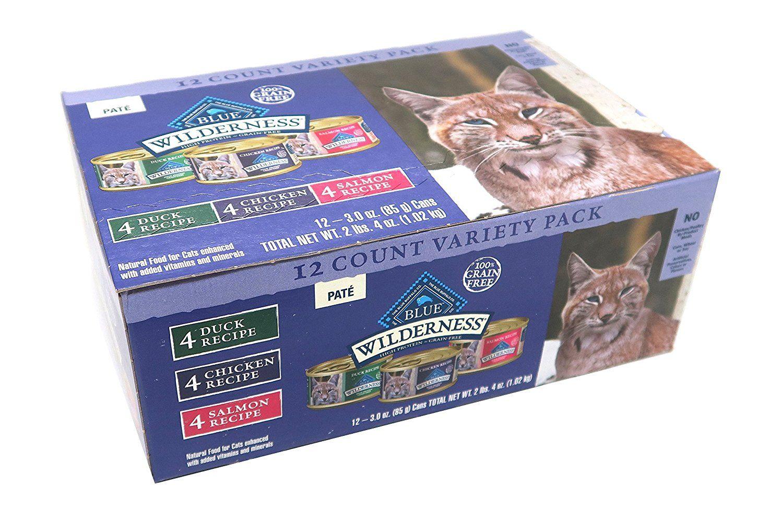 Blue Buffalo Wilderness Grain Free Wet Cat Food Variety