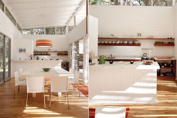 C mo hago para delimitar una cocina integrada for Heladera y cocina juntas