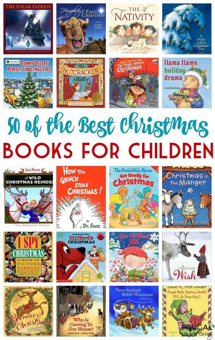50 Of The Best Christmas Books For Children Thrifty Thursday