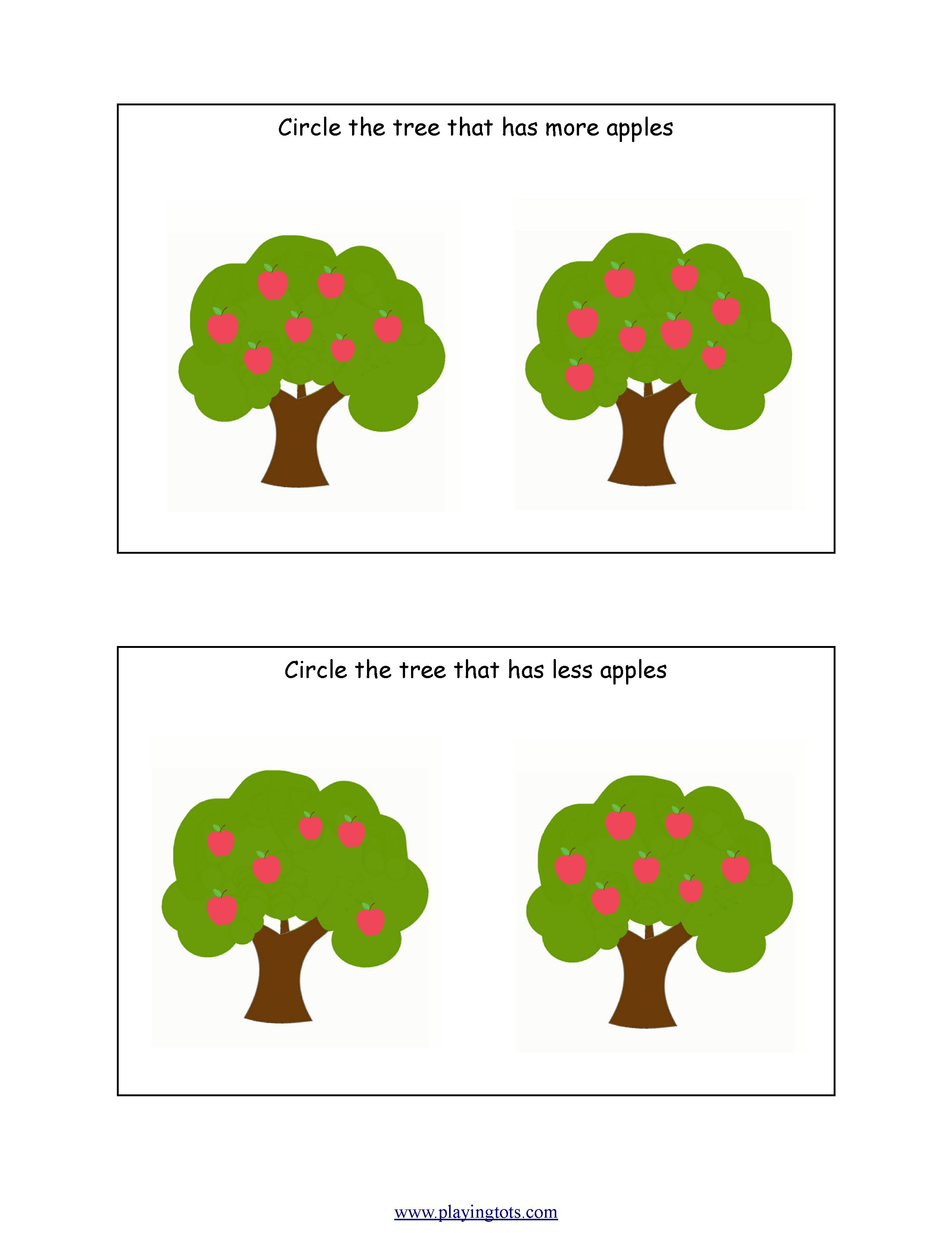Mini Worksheets