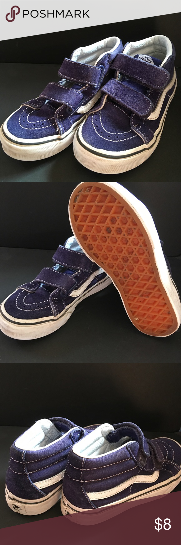 04d6b66d62 Vans Off-the-Wall Hi-top skate sneaker. VANS Off the Wall