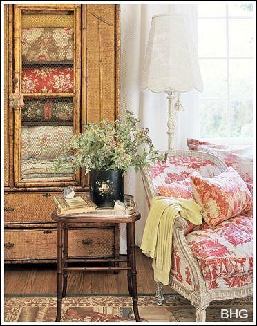 siiiiiiiiiiigh... IN. LOVE. WITH. THIS. //www.decorating-ideas ... on shabby chic bedroom ideas, pinterest french country kitchen decor, farmhouse kitchen decorating ideas,