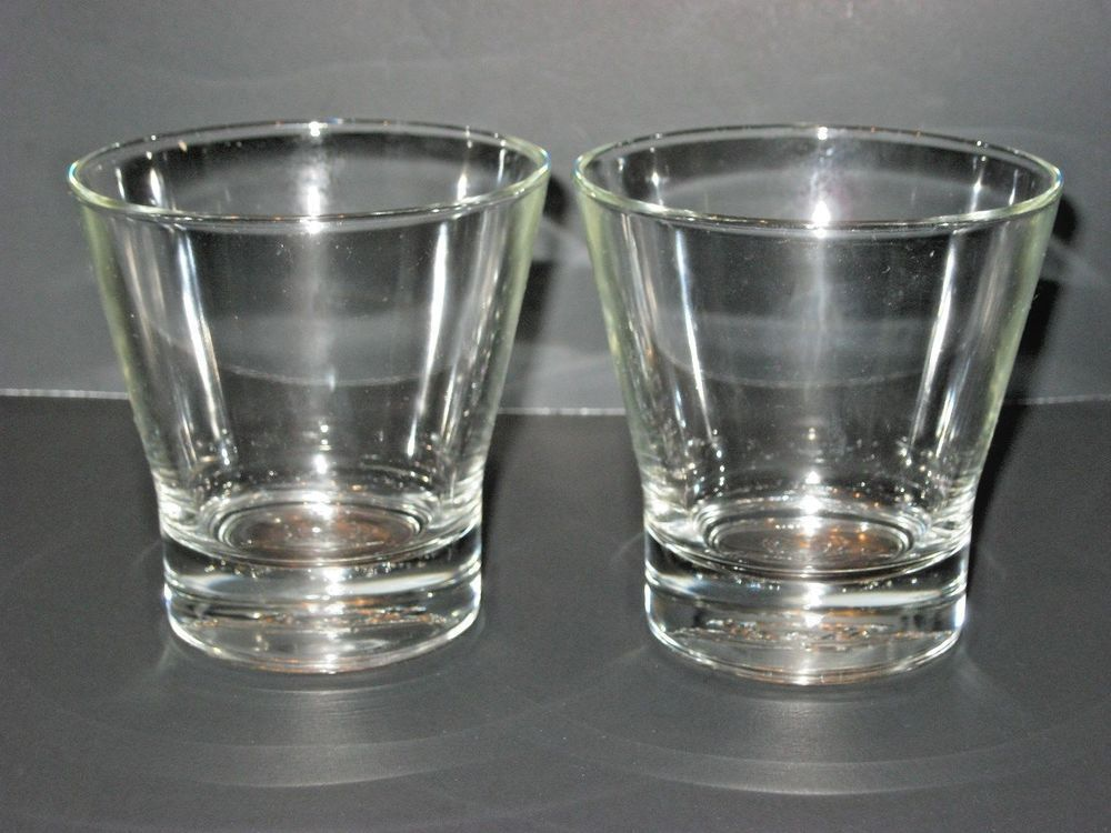 Superior Crown Royal Whiskey Rock Glasses Old Fashioned Glasses Crown Logo Set 2