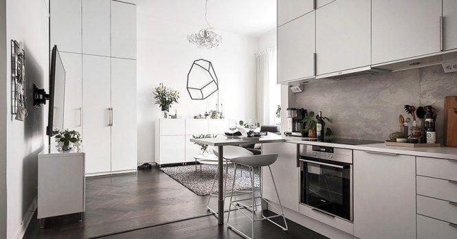 pisos pequeños minipiso Dormitorio elevado diseño interiores