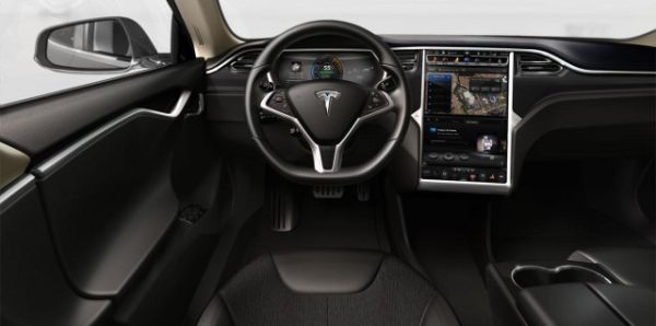 Tesla Model Interior Mecha Pinterest Dream Cars