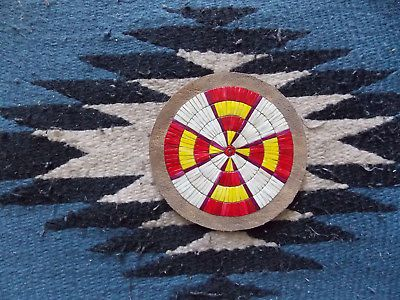 Quilled Rosette Native American Beading Bead Work