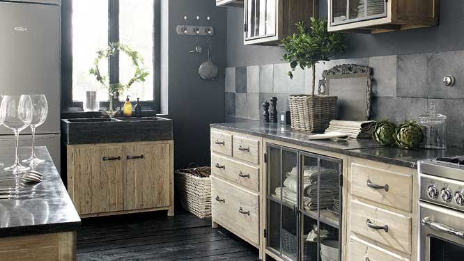 Credenza Da Cucina Maison Du Monde : Meuble cuisine zinc maison du monde ~