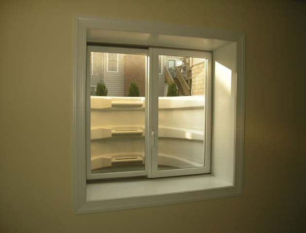 basement windows well liner with steps Sapau Pinterest