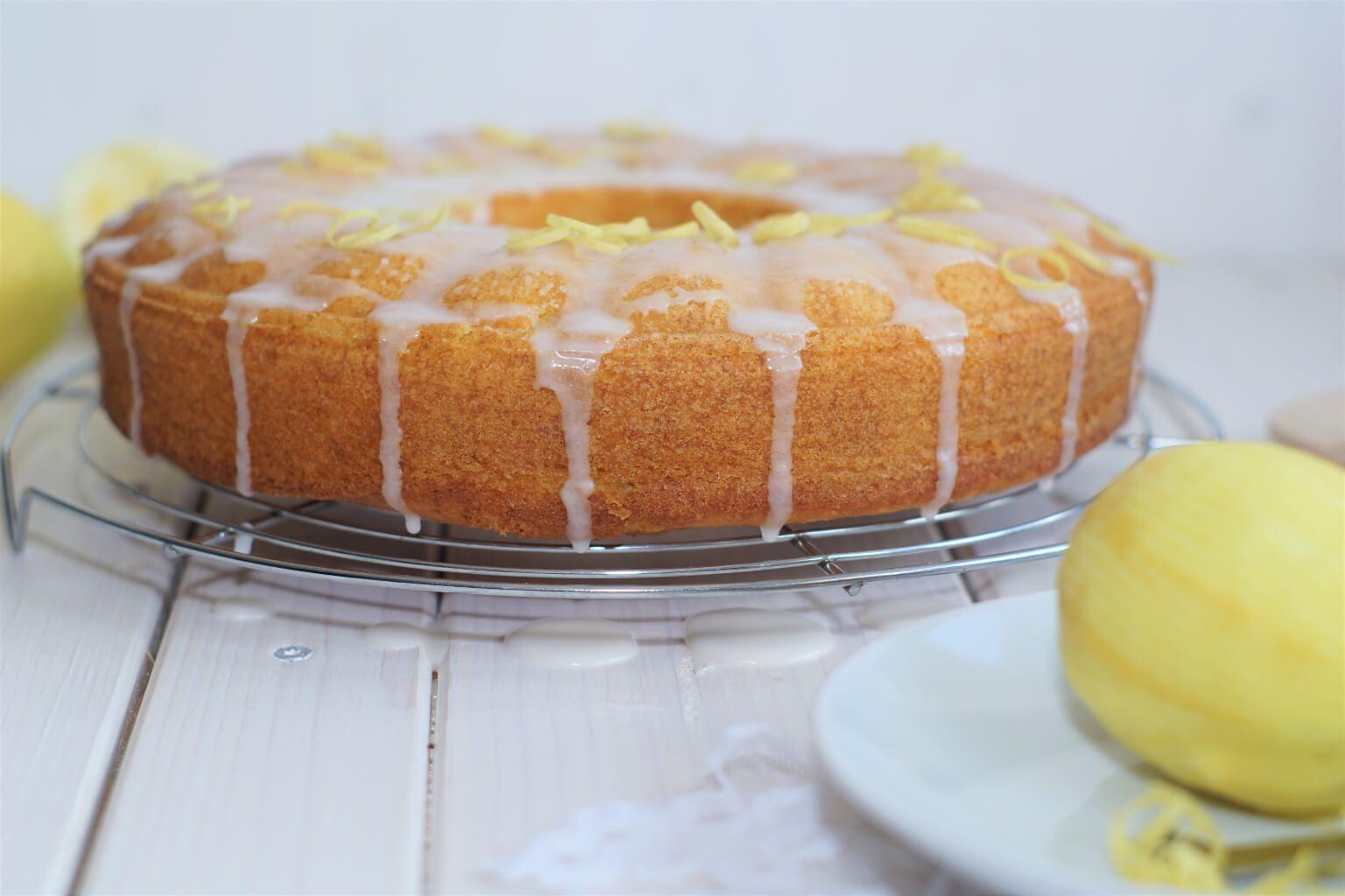 Zitronen Buttermilch Kuchen Rezept Buttermilchkuchen Zitronenkuchen Rezept Kuchen