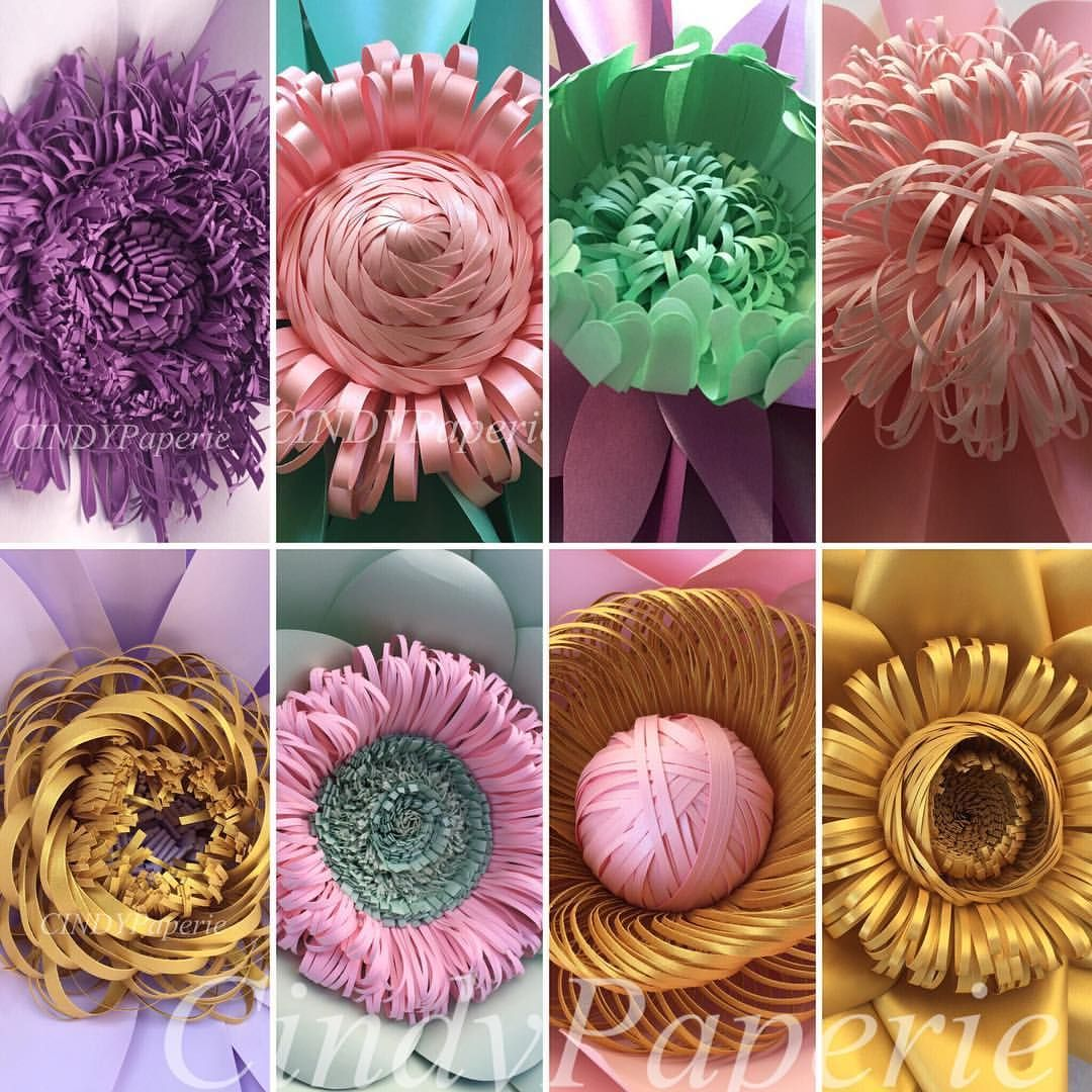 Center Of Attention Cindypaperie Paperflower Handmade
