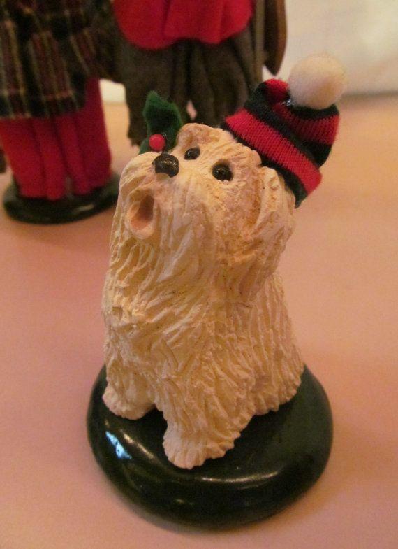1988 Christmas Caroler Dog Byers Choice Dickens Christmas Carolers Byers Christmas Carol  ReVintageLannie.Etsy.com