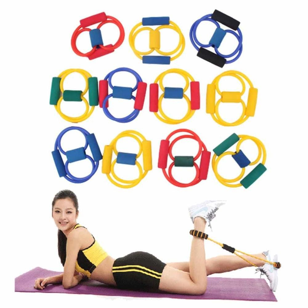 Resistance Band Stretch Fitness Tube Workout Bands