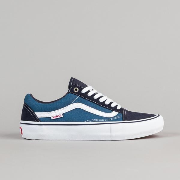Vans Old Skool Pro Shoes - Navy / STV Navy / White