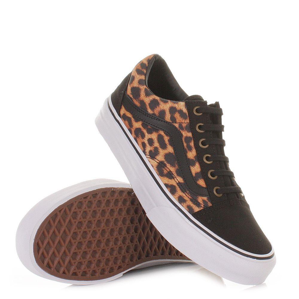 Vans Schuhe Damen Turnschuhe Schwarz Leoparden Muster Sneakers Fashioninspo Minimalistischemode Turnschuhe In 2020 Vans Vans Old Skool Sneaker Shoes