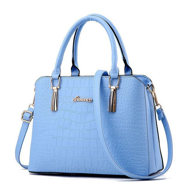 Bag · Alligator PU leather bag ladies Crocodile pattern Women messenger bags  handbags woman famous brands designer high 920ea0edbcef8
