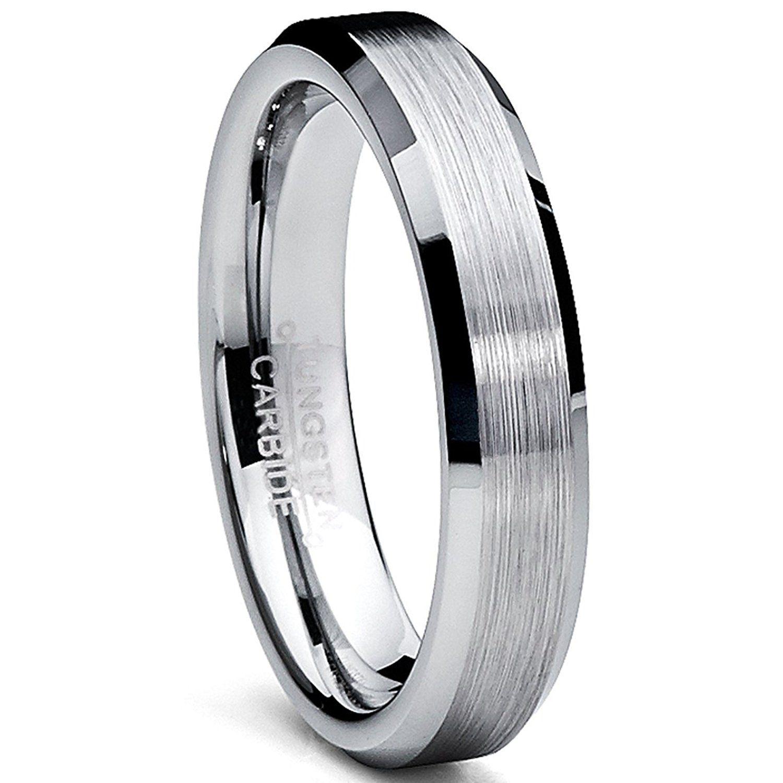 Ultimate Metals Co. Tungsten Carbide Unisex Men's Women's